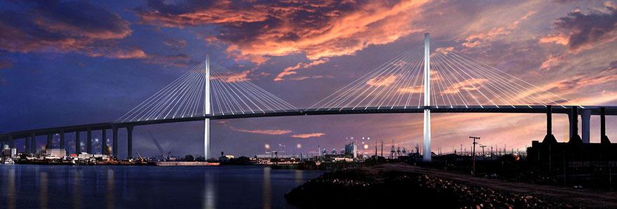 Gerald Desmond Bridge Replacement. Long Beach, CA
