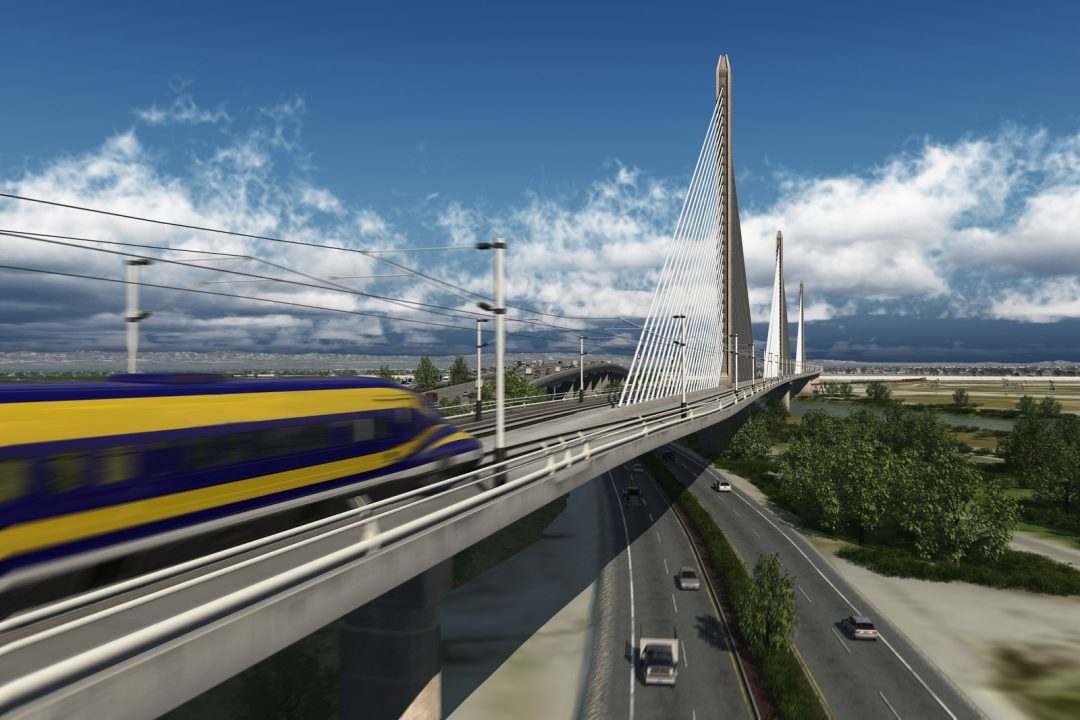 High Speed Rail. Sacramento, CA