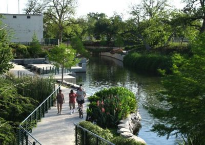 San Antonio River Revitalization. San Antonio, TX