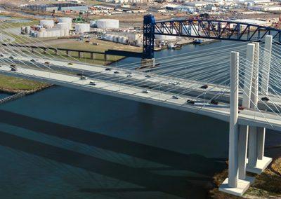 Goethals Bridge. New York to New Jersey