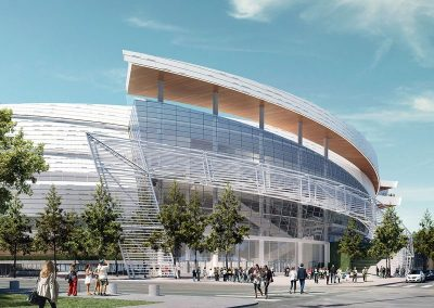 Chase Center Arena. San Francisco, CA